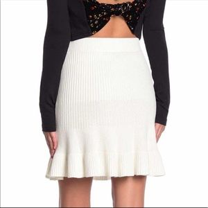 FREE PEOPLE ribbed skirt size small